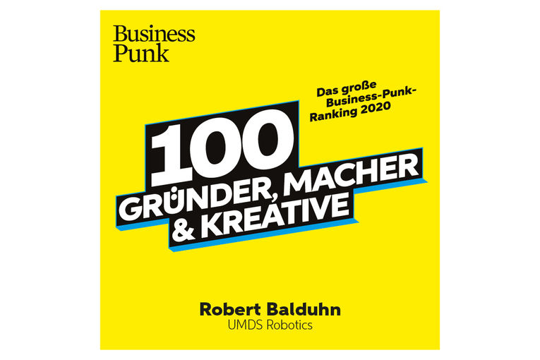 Business Punk Watchlist 2020: Robert Balduhn, UMDS robotics